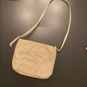Whiting and Davis Cream Purse